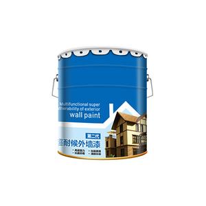 白色室外別墅陽台油漆塗料